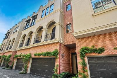 Rice Military Condo/Townhouse For Sale: 5319 Blossom Street