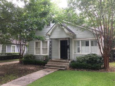 Houston Single Family Home For Sale: 2530 Southgate Boulevard