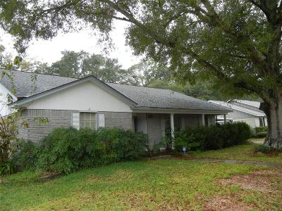 Dickinson Single Family Home For Sale: 4912 Live Oak Drive