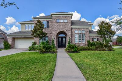 Katy Single Family Home For Sale: 2002 Lakeside Xing