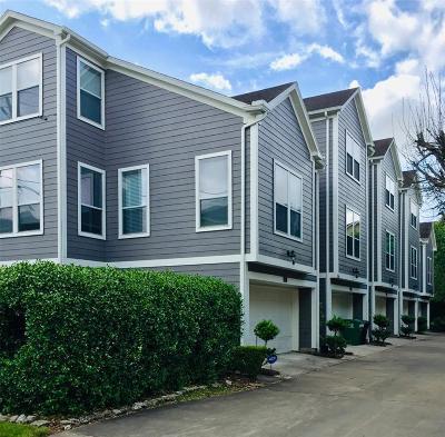 Houston Condo/Townhouse For Sale: 2424 Charleston Street #D