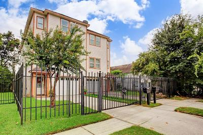 Houston Condo/Townhouse For Sale: 738 W 27th Street