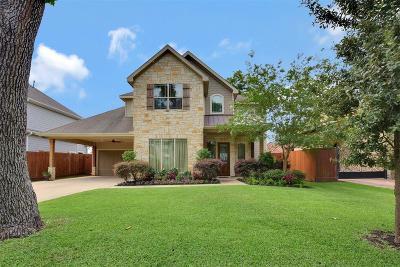 Houston TX Single Family Home For Sale: $819,000