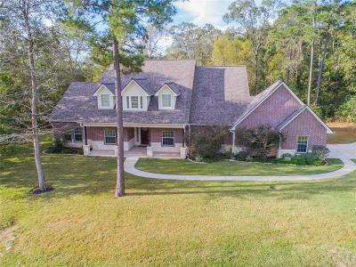 Willis Single Family Home For Sale: 9 Double Creek Drive
