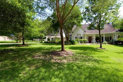 Willis Single Family Home For Sale: 14769 Oak Shores Drive