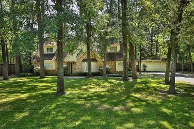 Houston Single Family Home For Sale: 806 Saybrook Lane