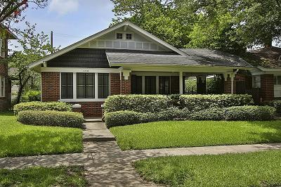 Houston Single Family Home For Sale: 1710 Cherryhurst Street