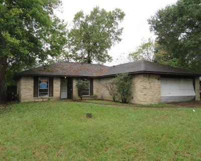 Houston TX Single Family Home For Sale: $85,000