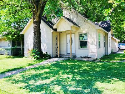 Houston Single Family Home For Sale: 3443 Dixie Drive