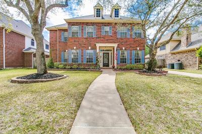Houston Single Family Home For Sale: 19603 Whispering Breeze Lane