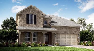 Crosby Single Family Home For Sale: 615 Yoke Drive