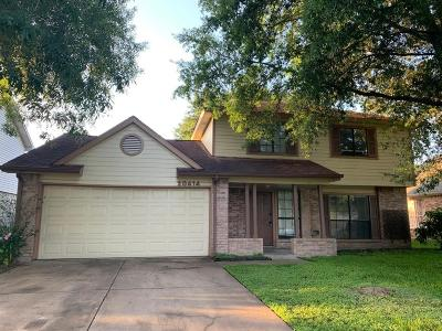 Katy Single Family Home For Sale: 20414 Blue Juniper Drive