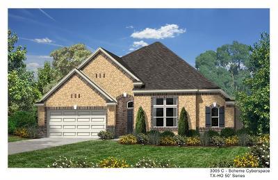 Houston TX Single Family Home For Sale: $323,995