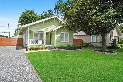 Houston Single Family Home For Sale: 607 E 28th Street