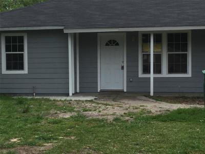 Houston TX Single Family Home For Sale: $208,000