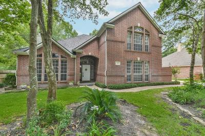 Conroe Single Family Home For Sale: 808 Woodland Ln