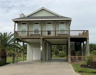 Galveston Single Family Home For Sale: 22406 Vista Del Mar