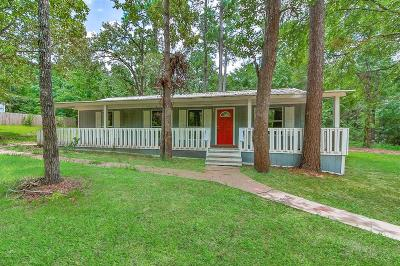 Montgomery Single Family Home For Sale: 18293 Walding Road