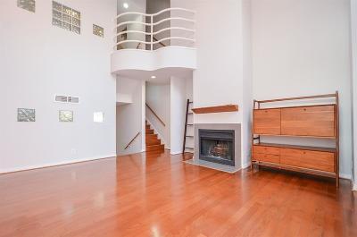 Houston Condo/Townhouse For Sale: 4004 Montrose Boulevard #19D