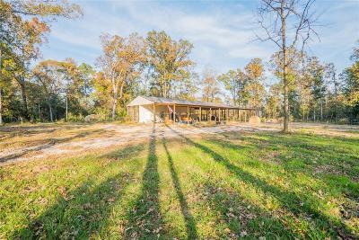 Conroe Farm & Ranch For Sale: 6922 Longmire Road
