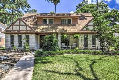 Memorial Northwest Single Family Home For Sale: 7815 Aleta Drive