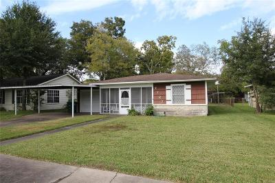 Houston Single Family Home For Sale: 7727 Dixie Drive