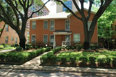 Houston Multi Family Home For Sale: 2011 Sheridan Street