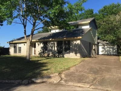 Sugar Land Single Family Home For Sale: 1818 Elmwood Court