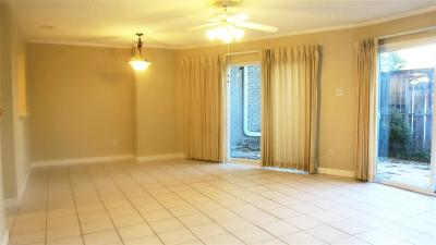 Bellaire Condo/Townhouse For Sale: 6308 S Rice Avenue