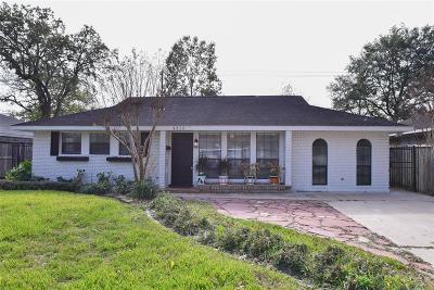 Oak Forest Single Family Home For Sale: 4513 Libbey Lane