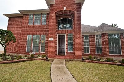 Stafford Single Family Home For Sale: 12426 Green Trails Drive