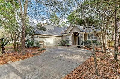 The Woodlands Single Family Home Option Pending: 54 Pinepath Place
