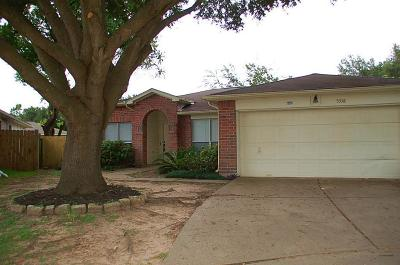 Katy Single Family Home For Sale: 5338 Yale