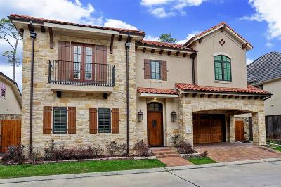 Houston Single Family Home For Sale: 18 N Creekside Court