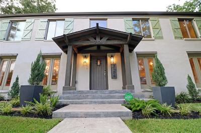 Houston Single Family Home For Sale: 2106 Goldsmith Street