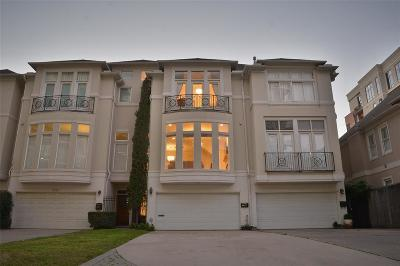 Houston Condo/Townhouse For Sale: 2224 Mid Lane