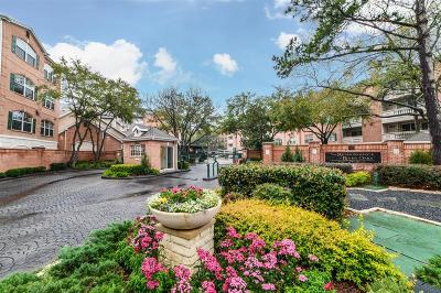 Houston Condo/Townhouse For Sale: 2111 Welch Street #A128