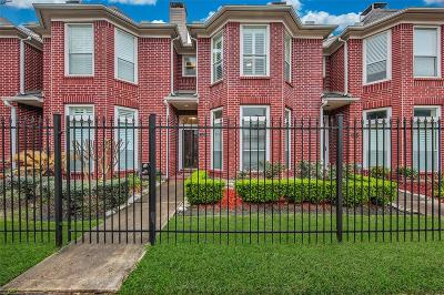 Houston Condo/Townhouse For Sale: 2620 Crawford Street