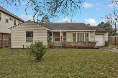 Harris County Single Family Home For Sale: 4627 Maple Street