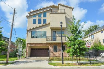 Houston Condo/Townhouse For Sale: 1614 Holman Street