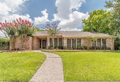 Houston Single Family Home For Sale: 8011 Candle Lane