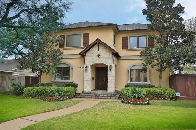 Bellaire Single Family Home For Sale: 4900 Imperial Street