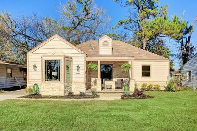 Houston Single Family Home For Sale: 3849 Rosedale Street