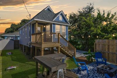 Galveston TX Single Family Home For Sale: $349,900