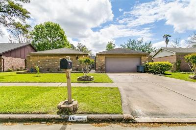 Houston TX Single Family Home For Sale: $220,000