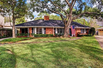 Houston Single Family Home For Sale: 5614 Olympia Drive