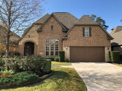 The Woodlands TX Single Family Home For Sale: $729,900