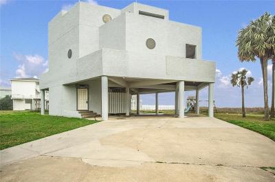 Galveston Single Family Home For Sale: 18611 W De Vaca