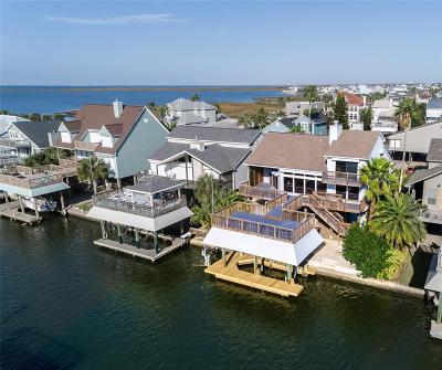 Galveston Single Family Home For Sale: 3409 Jolly Roger Circle