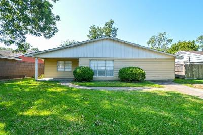 Houston Single Family Home For Sale: 8639 Greiner Drive